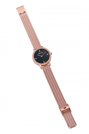 LOFTY'S Cassiopi Crystals Rose Gold Stainless Steel Bracelet Y2014-16