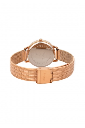 LOFTY'S Cassiopi Crystals Rose Gold Stainless Steel Bracelet Y2014-17