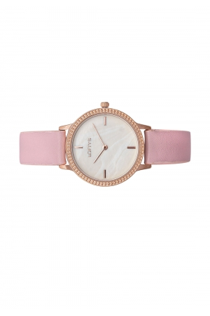 LOFTY'S Cassiopi Crystals Pink Leather Strap Y2014-8