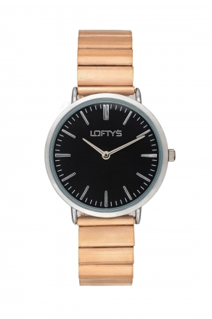 LOFTY'S Corona Rose Gold Stainless Steel Bracelet Y2016-25