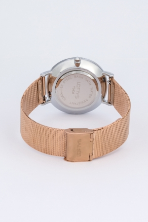 LOFTY'S Vintage Rose Gold Stainless Steel Bracelet