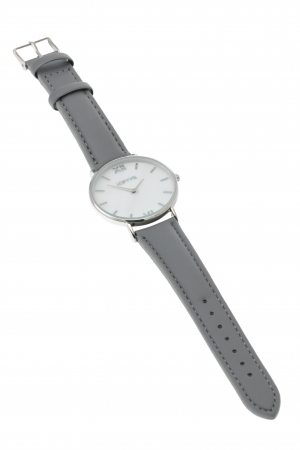 LOFTY'S Vintage Grey Leather Strap