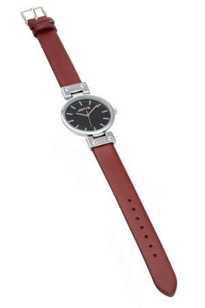 LOFTY'S Kelly Red Leather Strap Y3409-37