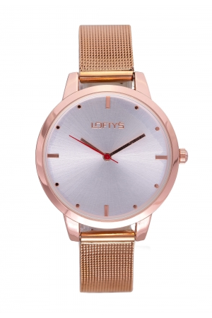 LOFTY'S Andromeda Rose Gold Steel Watch Y3412-11