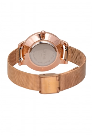 LOFTY'S Andromeda Rose Gold Steel Watch Y3412-27