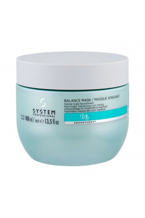 System Professional Balance Hair Mask 400ml (Sensitive Scalp - Fine Hair - Anti Hair Loss)