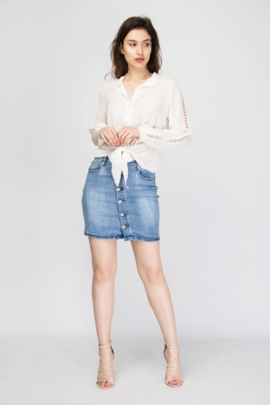 COZY Premium Denim Skirt