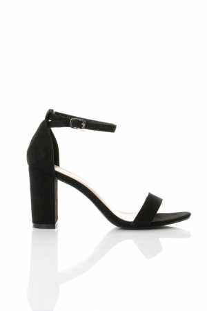 Heeled Sandals In Black