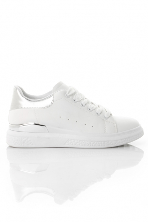 White Sneakers Low Cut