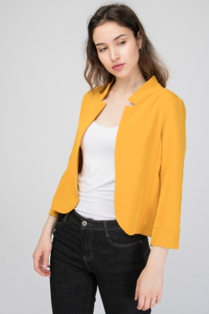 COZY Inverted Lapel Blazer