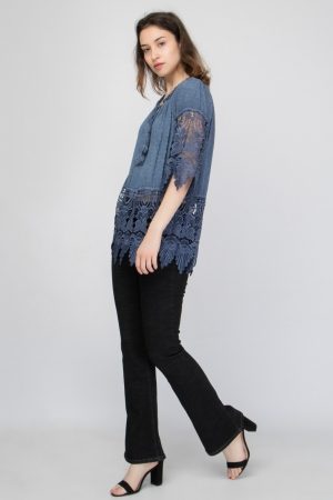 COZY Design Lace Top