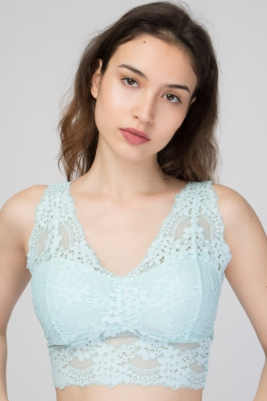 COZY Lace Crop Top