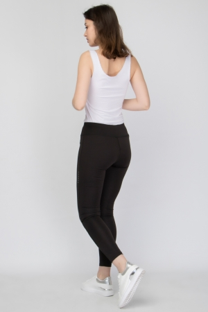 COZY BLACK LEGGING