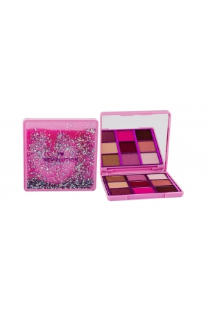 Makeup Revolution London I Heart Revolution Glitter Eyeshadow Eye Shadow 13,5gr One True Love