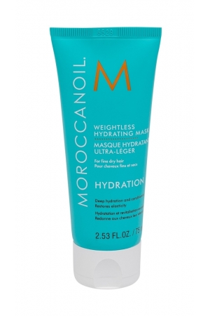 Moroccanoil Hydration Weightless Hair Mask 75ml (Fine Hair - Dry Hair)
