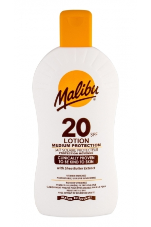 Malibu Lotion Spf20 Sun Body Lotion 400ml Waterproof
