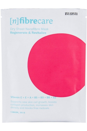 [n]fibrecare Nanofibre Face Mask Regenerate & Revitalize Face Mask 1pc (Wrinkles - Mature Skin)