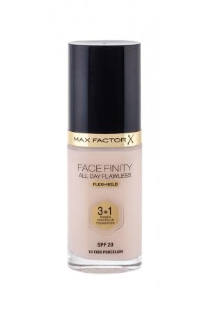 Max Factor Facefinity 3 In 1 Makeup 30ml Spf20 10 Fair Porcelain (Tekuta)