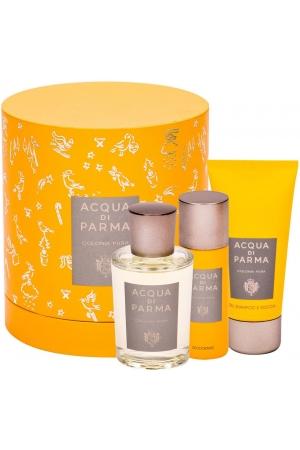 Acqua Di Parma Colonia Pura Eau de Cologne 100ml Combo: Cologne 100 Ml + Shower Gel 75 Ml + Deodorant 50 Ml