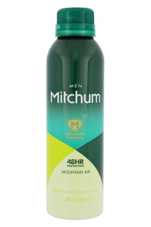 Mitchum Advanced Control Mountain Air Antiperspirant 200ml Alcohol Free 48hr (Deo Spray)