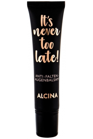 Alcina It´s Never Too Late! Eye Balm 15ml (Wrinkles)