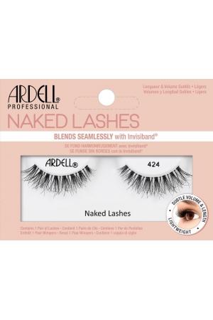 Ardell Naked Lashes 424 False Eyelashes Black 1pc