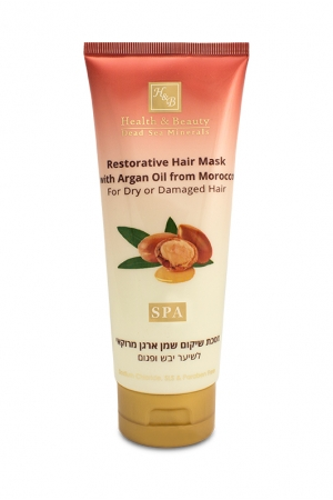 Restorative Hair Mask with Argan Oil from Morocco For dry or damaged hair 200ml