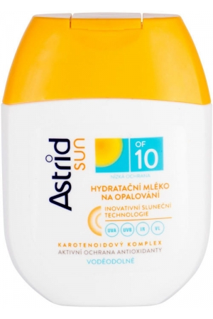 Astrid Sun Moisturizing Suncare Lotion SPF10 Sun Body Lotion 80ml (Waterproof)