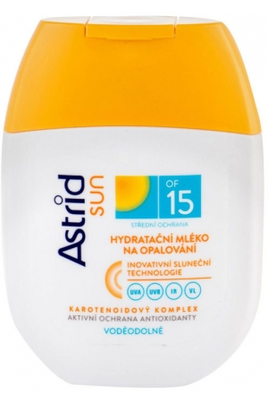 Astrid Sun Moisturizing Suncare Lotion SPF15 Sun Body Lotion 80ml (Waterproof)