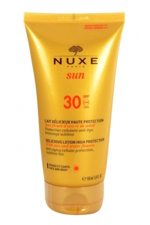 Nuxe Sun Delicious Lotion High Protection SPF30 150ml