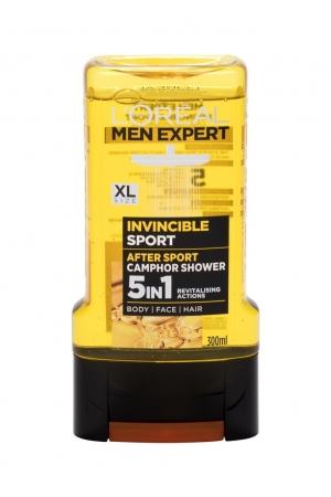 L/oreal Paris Men Expert Invincible Sport Shower Gel 300ml 5 In 1