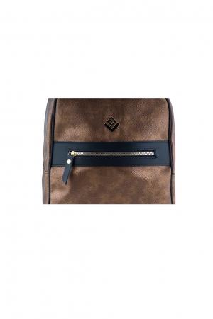 Basic Hobo Backpack Bronze