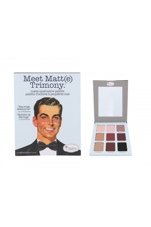 Thebalm Meet Matt(e) Trimony Eyeshadow Palette Eye Shadow 21,6gr