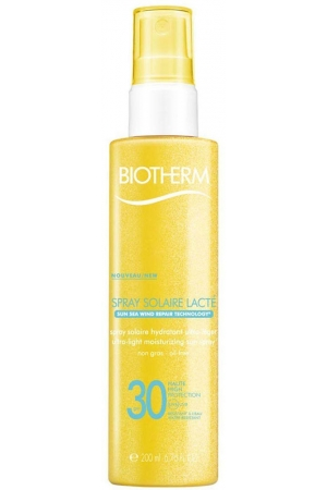 Biotherm Solaire Lacté Ultra-Light Sun Spray SPF15 Sun Body Lotion 200ml