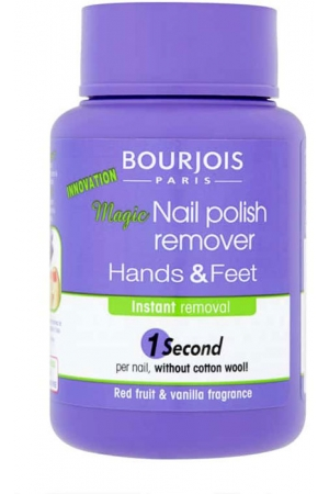 Bourjois Paris Magic Nail Polish Remover Hands & Feet Nail Polish Remover 75ml