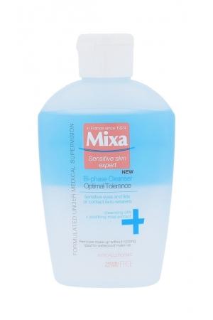 Mixa Optimal Tolerance Bi-phase Cleanser Eye Makeup Remover 125ml Alcohol Free