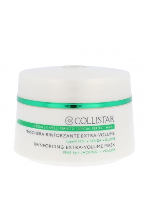 Collistar Volume And Vitality Reinforcing Extra-volume Mask Hair Mask 200ml (Fine Hair)