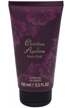 Christina Aguilera Violet Noir Shower Gel 150ml