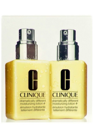 Clinique Dramatically Different Moisturizing Lotion+ Day Cream 250ml Combo: 2x 125ml Dramatically Different Moisturizing Lotion+ (For All Ages)
