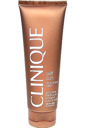 Clinique Self Sun Body Tinted Lotion Self Tanning Product Medium/Deep 125ml