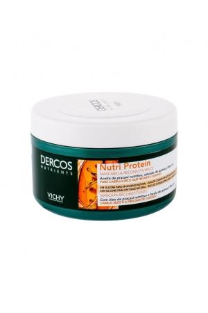 Vichy Dercos Nutri Protein Hair Mask 250ml (Damaged Hair - Split Ends - Dry Hair)