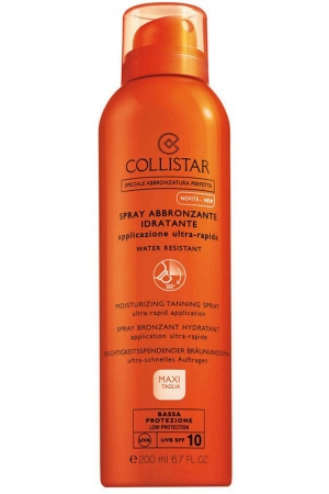 Collistar Special Perfect Tan Moisturizing Tanning Spray SPF10 Sun Body Lotion 200ml