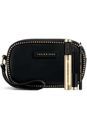 Collistar Volume Unico Mascara Intense Black 13ml Combo: Mascara 13 Ml + Eye Kajal Pencil 0,8 G Black + Cosmetic Bag The Bridge