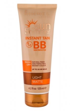 Rimmel London Sun Shimmer 9in1 Bb Cream 125ml Light Matte