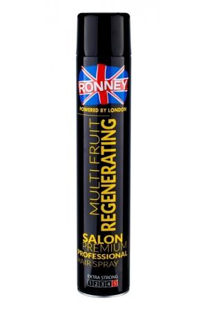 Ronney Salon Premium Professional Multi Fruit Hair Spray 750ml (Extra Strong Fixation)
