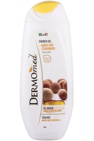 Dermomed Amber and Cedarwood Shower Gel 250ml