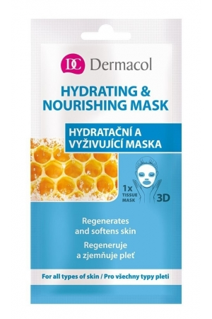 Dermacol Hydrating & Nourishing Mask Face Mask 15ml (All Skin Types - For All Ages)