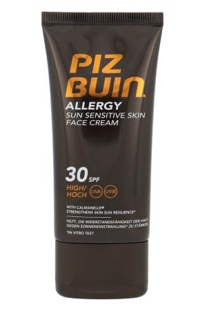 Piz Buin Allergy Sun Sensitive Skin Face Cream Face Sun Care 50ml Spf30+