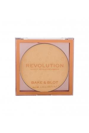 Makeup Revolution London Bake Blot Powder 5,5gr Banana Light