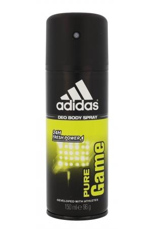 Adidas Pure Game 24h Deodorant 150ml Aluminum Free (Deo Spray)